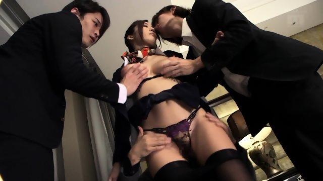 Японские девушки быстро получают сексуальное удовольствие