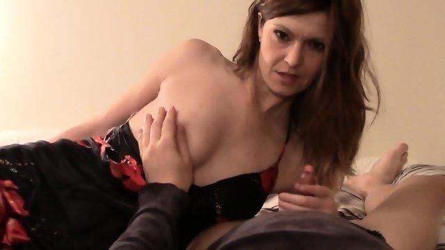 Любительский секс с длинноволосой женой