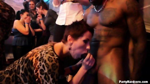 Сексуальные развлечения в ночном заведении